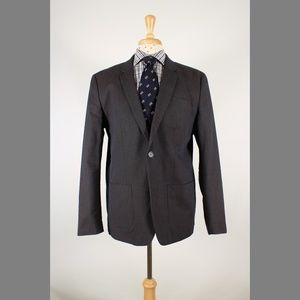Penguin XXL 44R Gray Cotton Sport Coat Y810